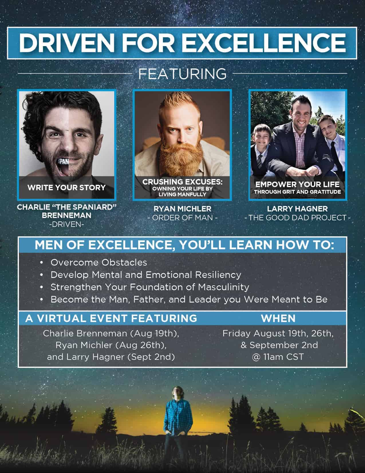 Driven for Excellence Summit Flyer