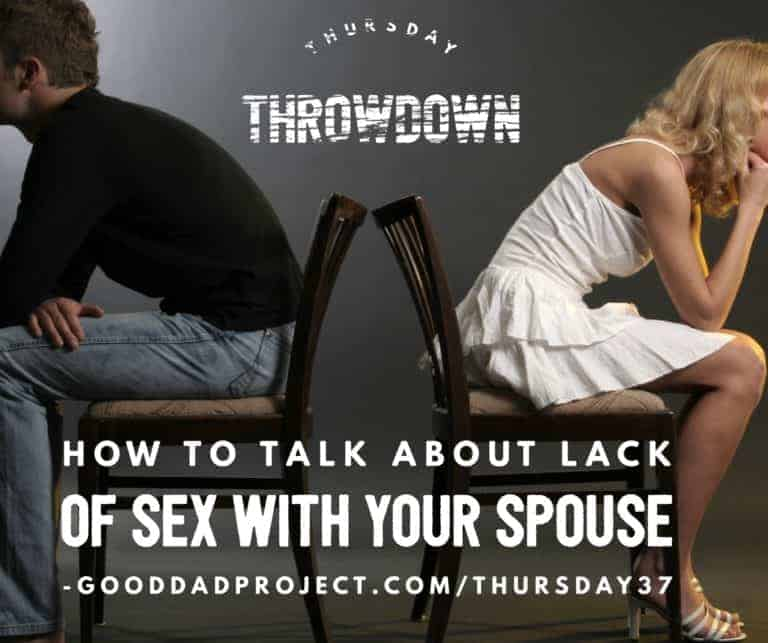 How to Talk About Lack of Sex with Your Spouse