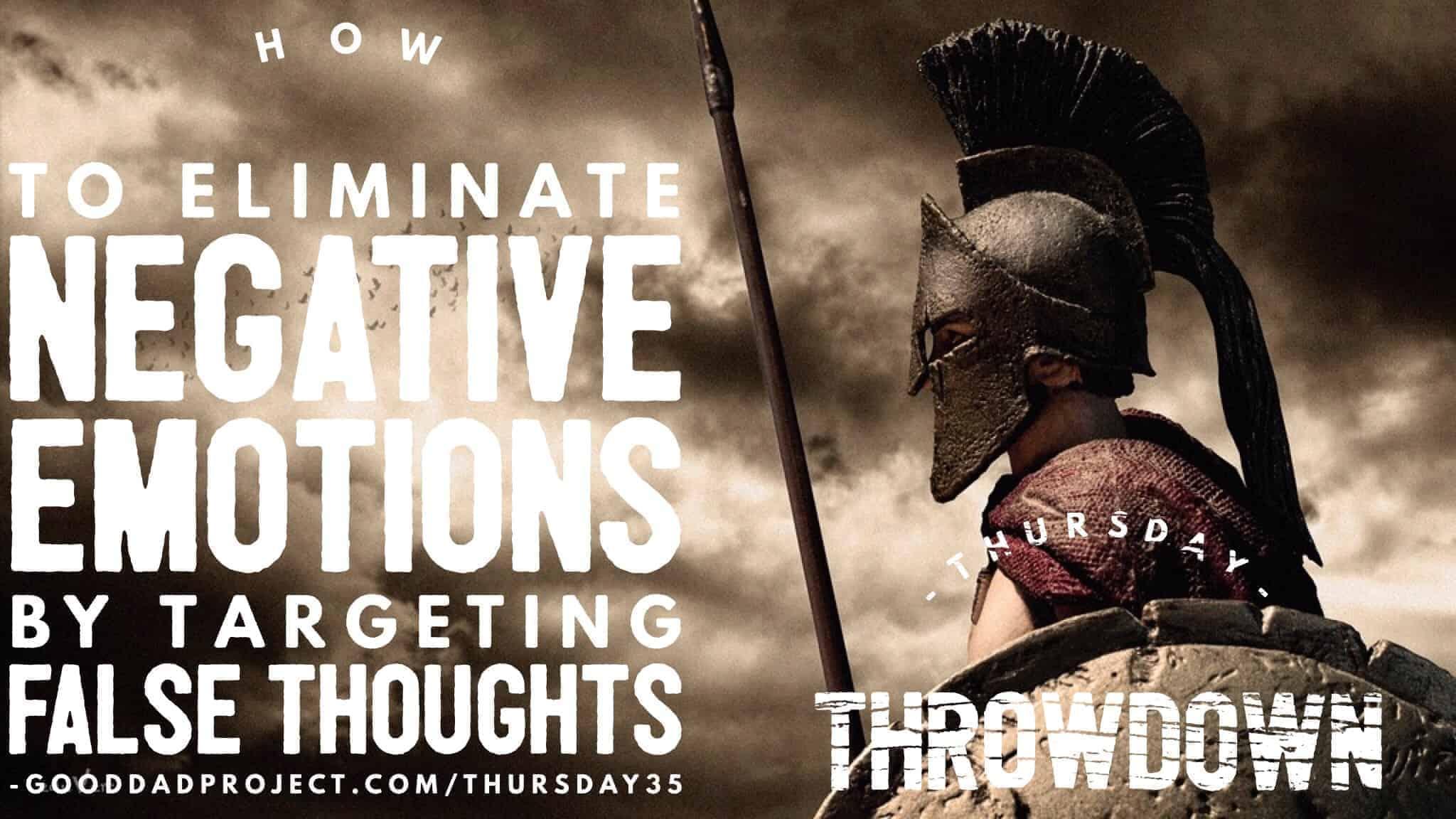 eliminate negative emotions