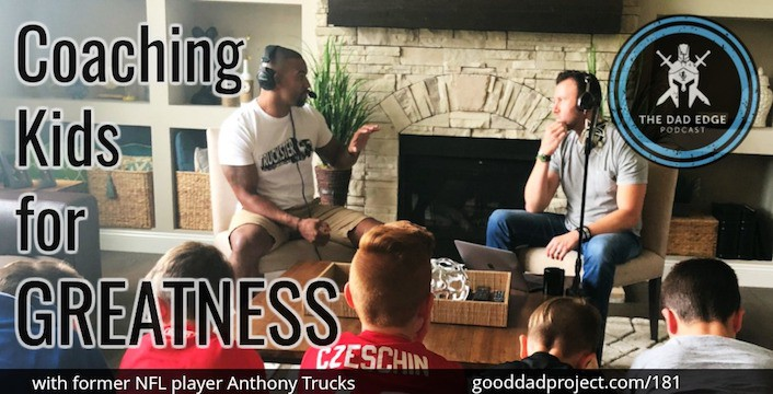 Coaching Kids for Greatness with former NFL player Anthony Trucks