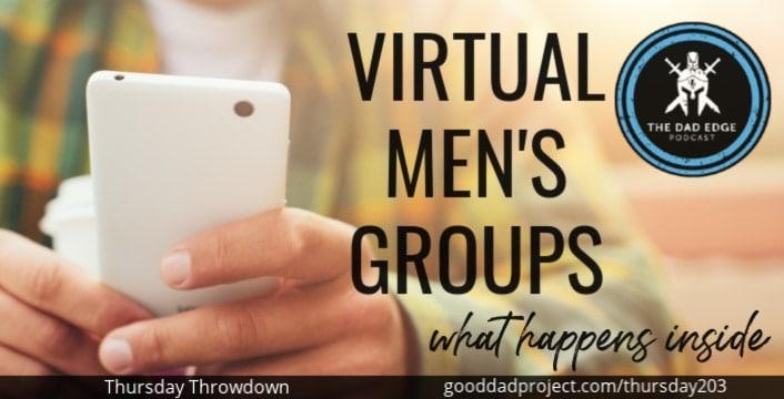 Virtual Men's Groups: What Happens Inside